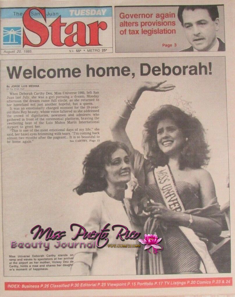 deborah carthy-deu, miss universe 1985. - Página 4 49831810