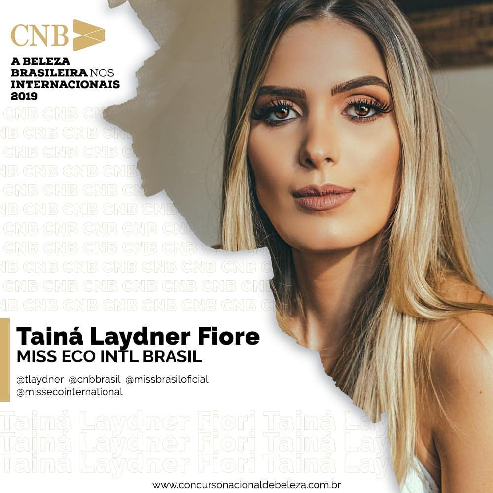 taina laydner, miss eco brasil 2019. - Página 3 49858411