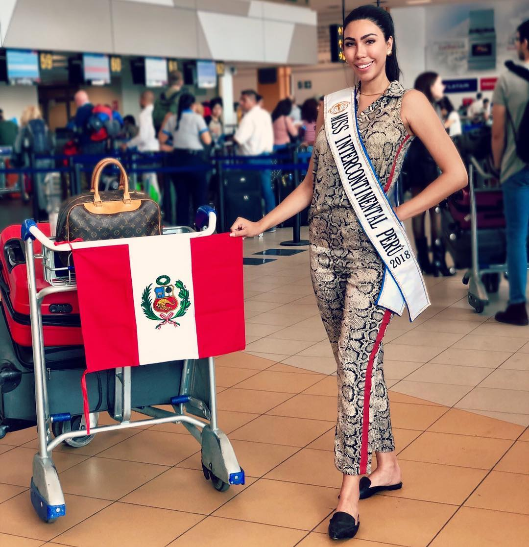giuliana valenzuela, miss intercontinental peru 2018-2019. - Página 2 49907212