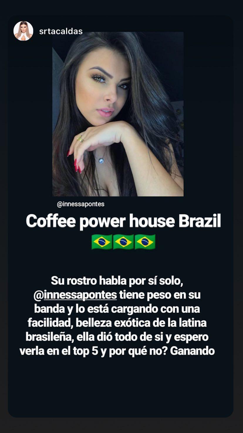 innessa pontes, quinta colocada de reynado internacional cafe 2019. - Página 13 49993810
