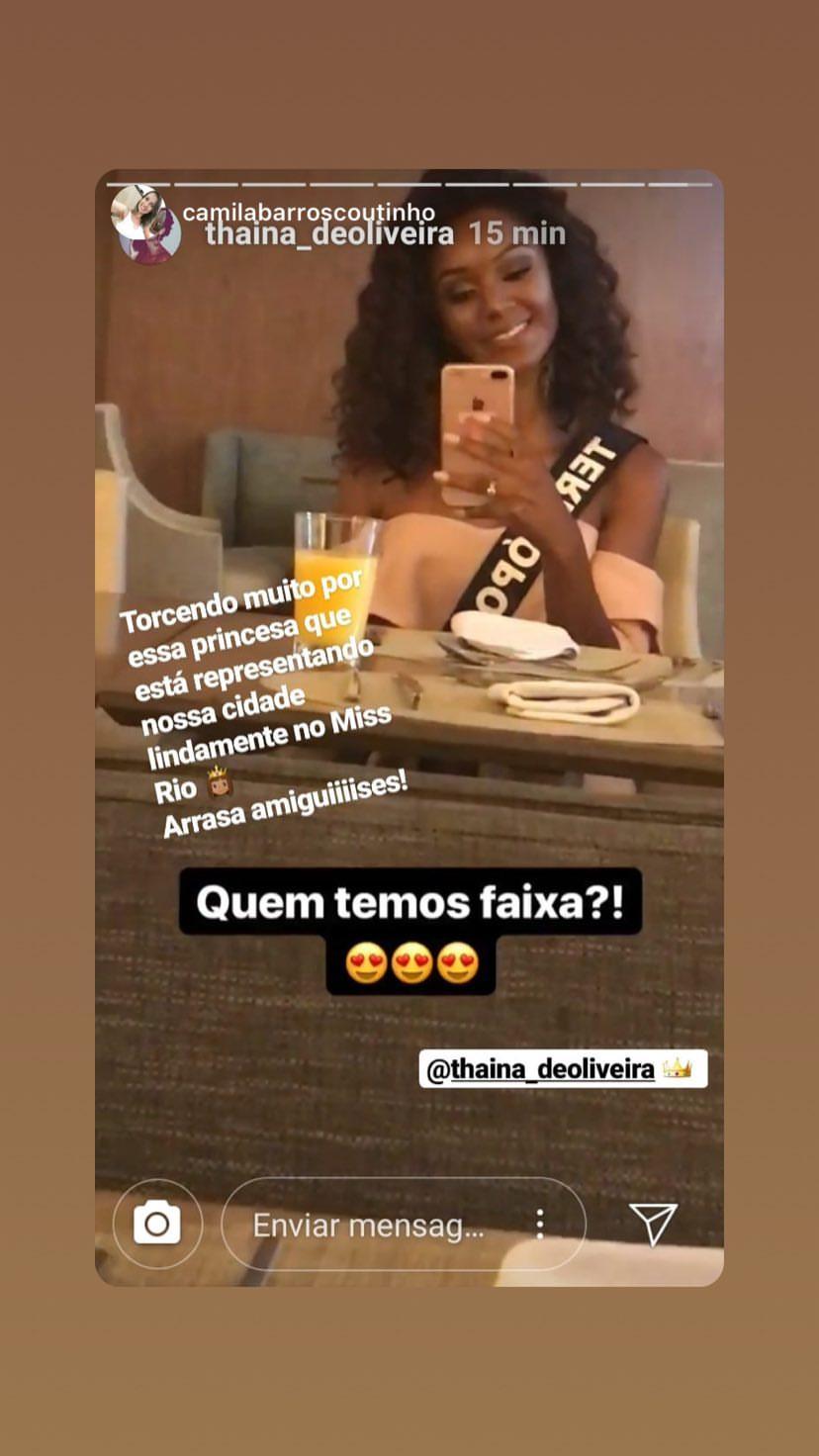 thaina de oliveira, miss teresopolis 2019. - Página 4 50099210