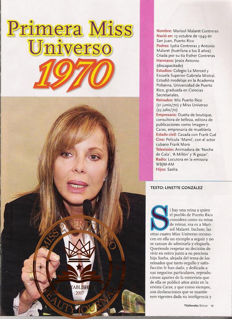 marisol malaret, miss universe 1970. - Página 6 50102711