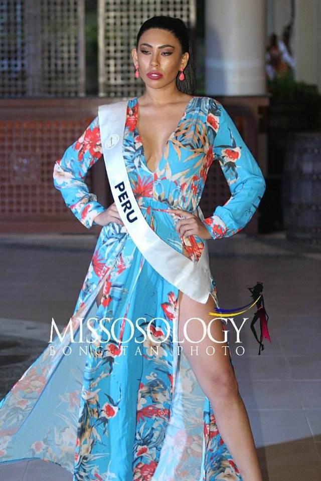 giuliana valenzuela, miss intercontinental peru 2018-2019. - Página 3 50174110