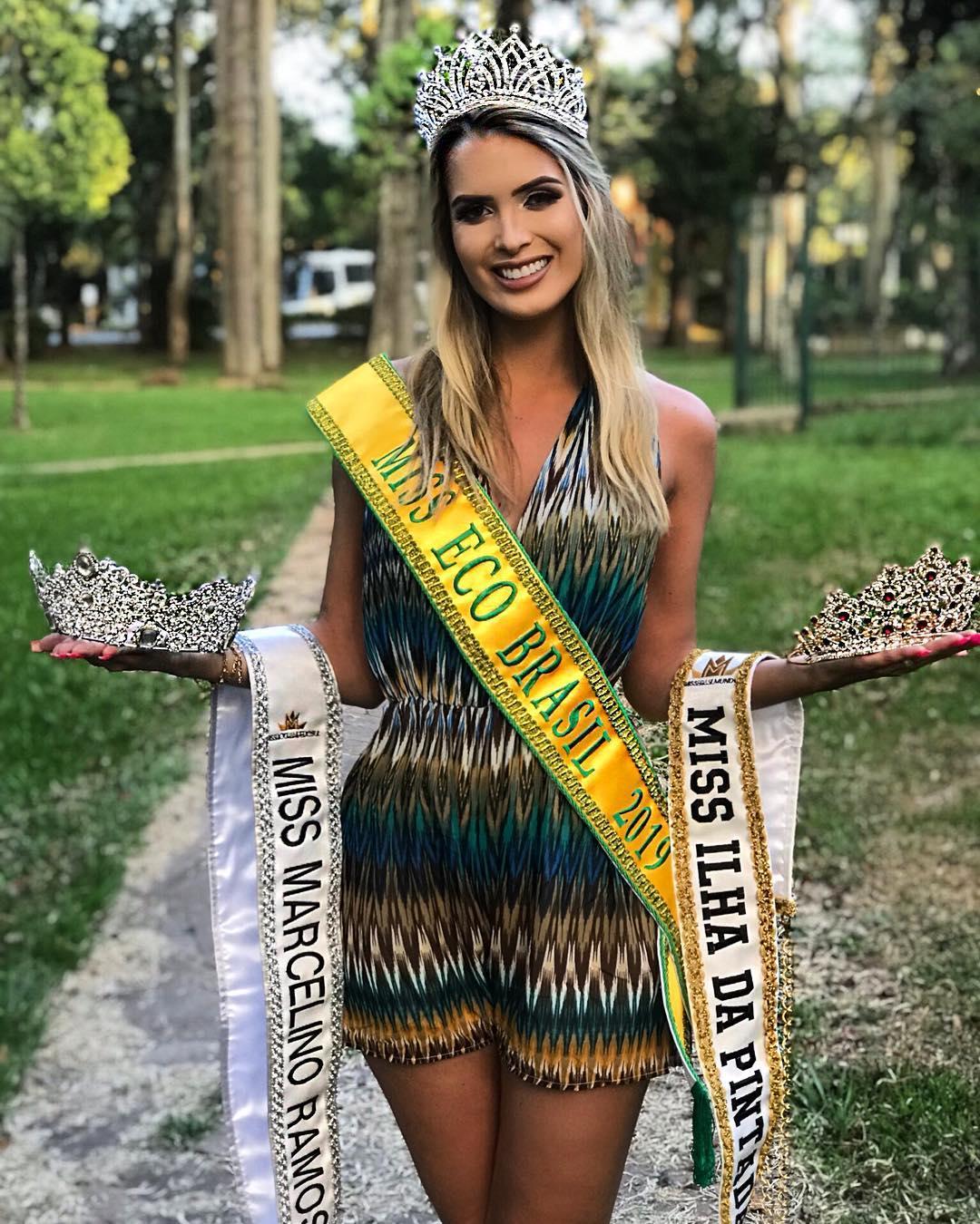 taina laydner, miss eco brasil 2019. - Página 3 50226211