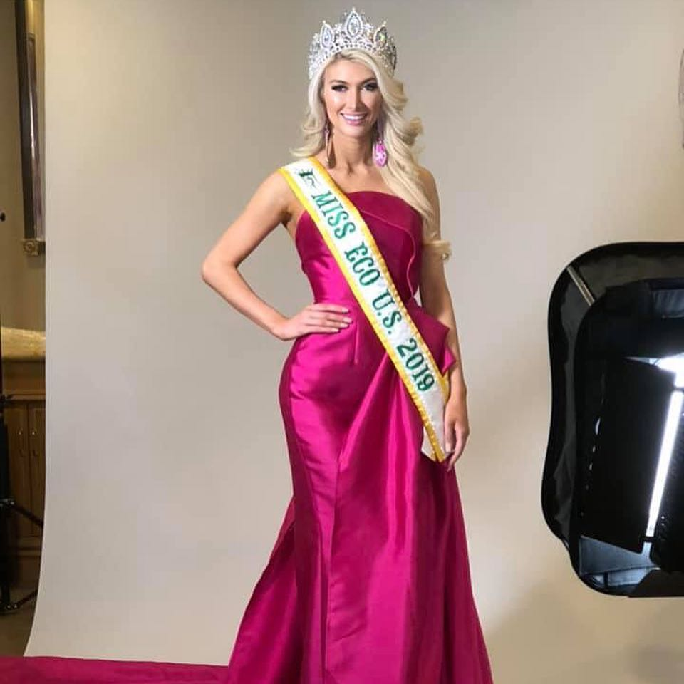 elizabeth jordan, 2nd runner-up de miss eco international 2019. 50256910