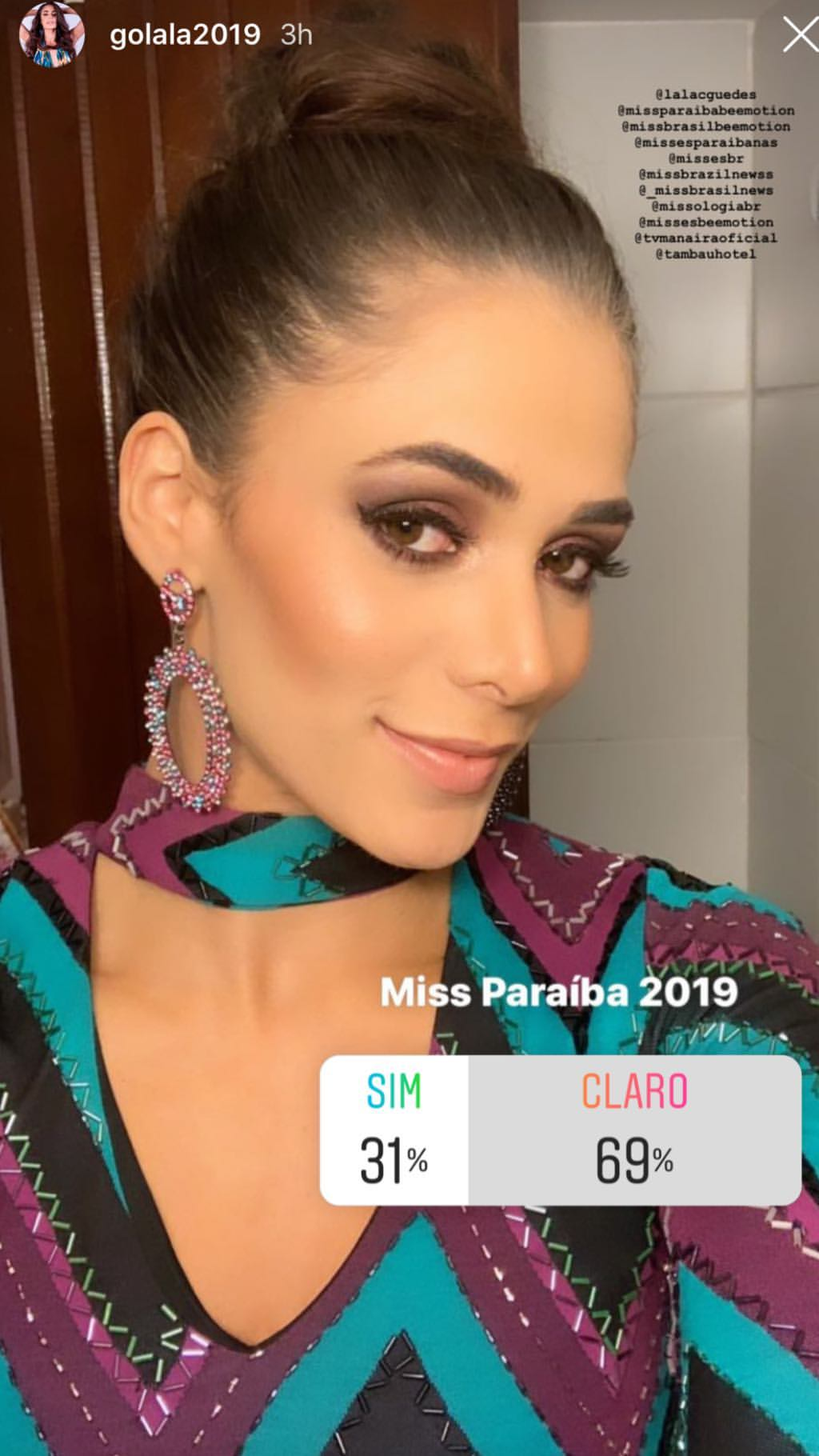 lala guedes, miss grand brasil 2020. - Página 5 51383610