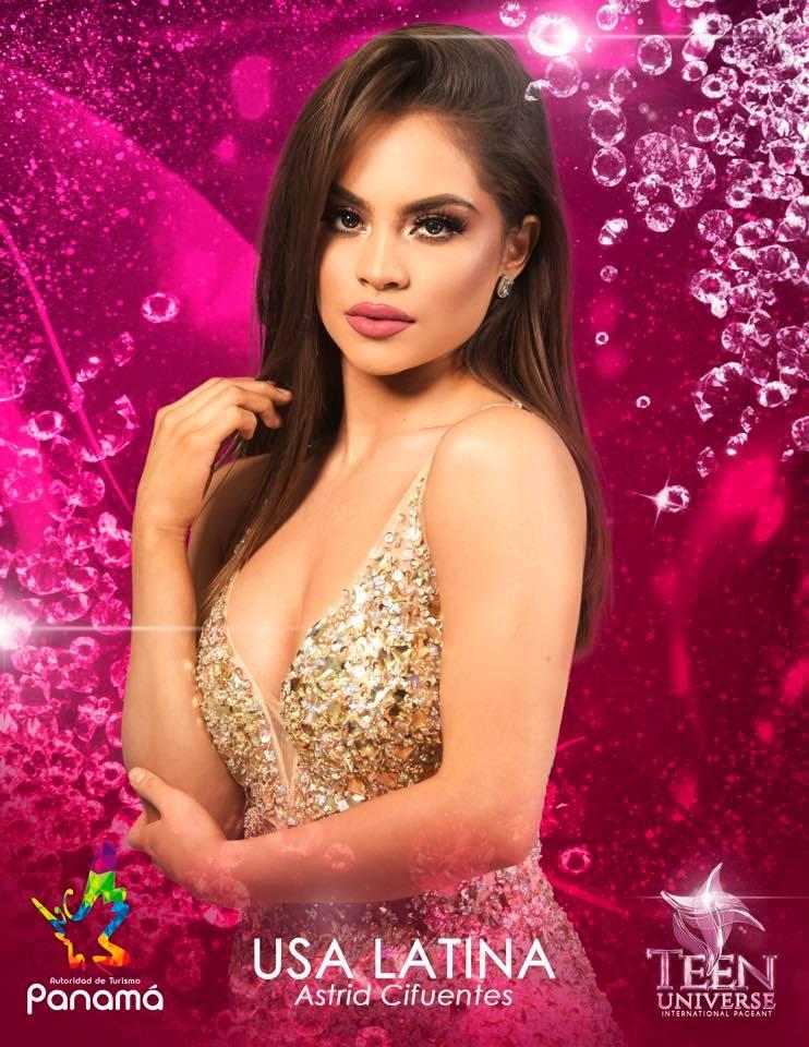astrid cifuentes, miss teen universe usa latina 2019. 51658110