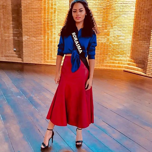 natali vitoria, miss roraima mundo 2020/top 15 de miss brasil universo 2019 /miss brasil teen universe 2017. primeira miss negra a vencer o miss roraima. - Página 10 51890411