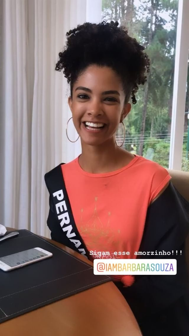 barbara souza, miss pernambuco 2019. - Página 5 51936913