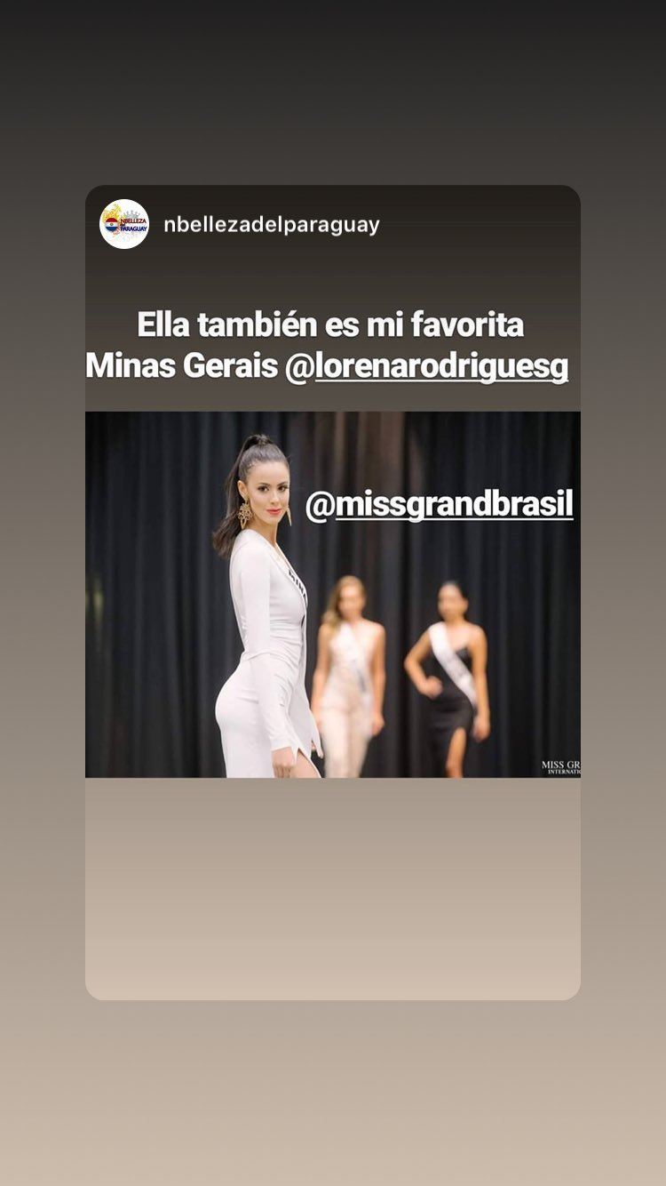 lorena rodrigues, miss grand minas gerais 2019/2nd runner-up de miss global beauty queen 2017. - Página 8 51947710