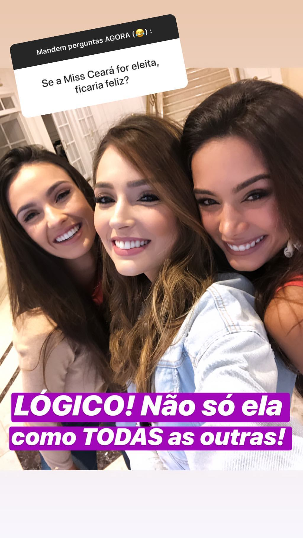 thaina castro, top 10 de miss brasil universo 2019. - Página 4 52681212