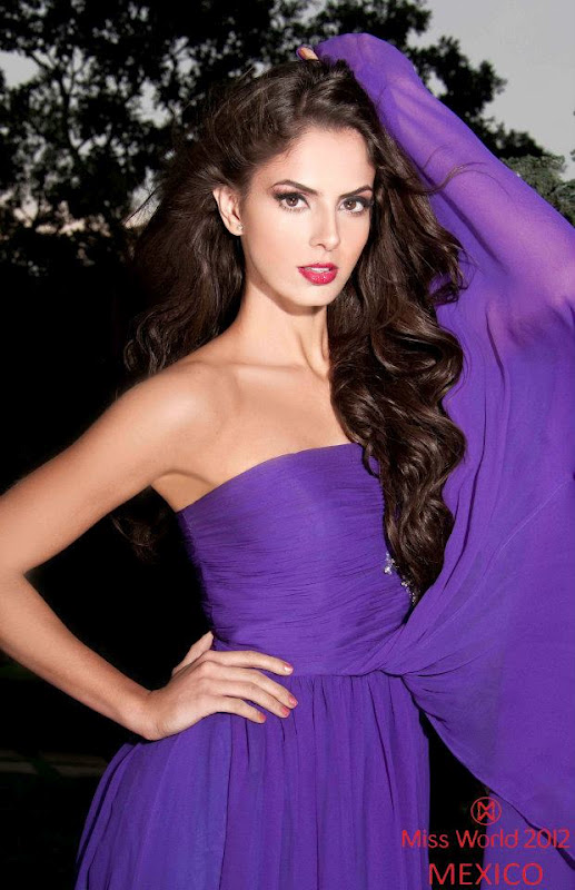 mariana berumen, top 36 de miss model of the world 2018/top 15 de miss world 2012 53450310