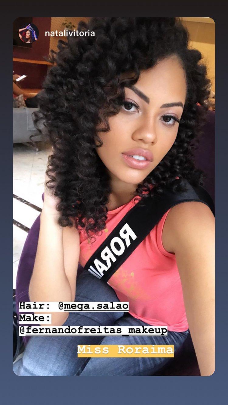 natali vitoria, miss roraima mundo 2020/top 15 de miss brasil universo 2019 /miss brasil teen universe 2017. primeira miss negra a vencer o miss roraima. - Página 9 53541110