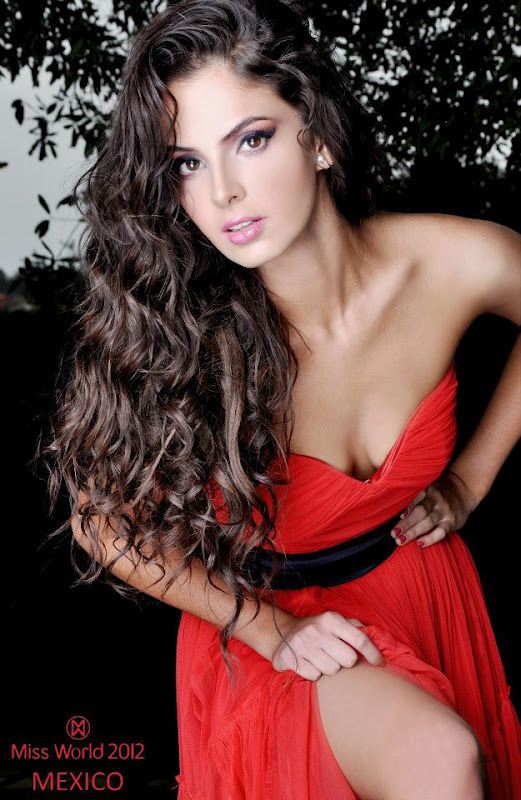 mariana berumen, top 36 de miss model of the world 2018/top 15 de miss world 2012 55843110