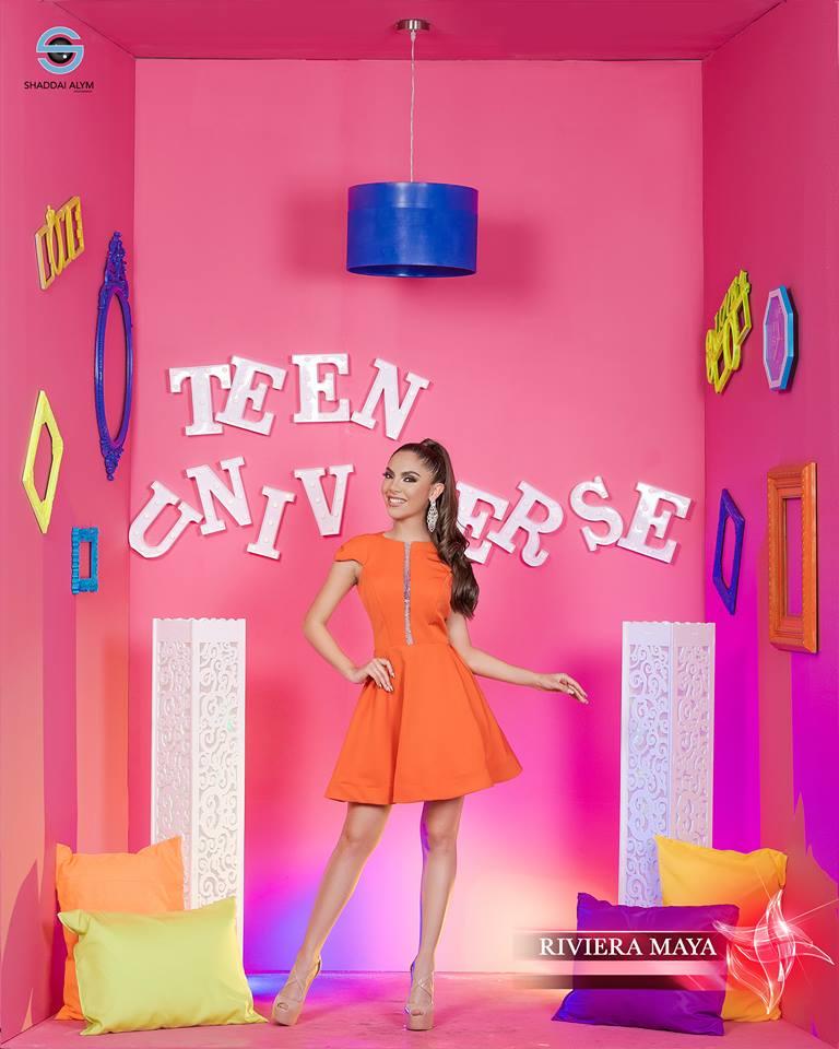 frida barron, miss teen universe riviera maya 2019. - Página 2 55875410