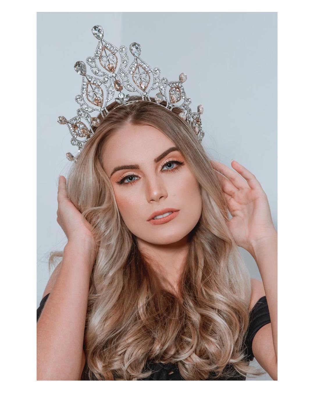 amanda pegoraro , miss brasil de las americas 2019. 55883510