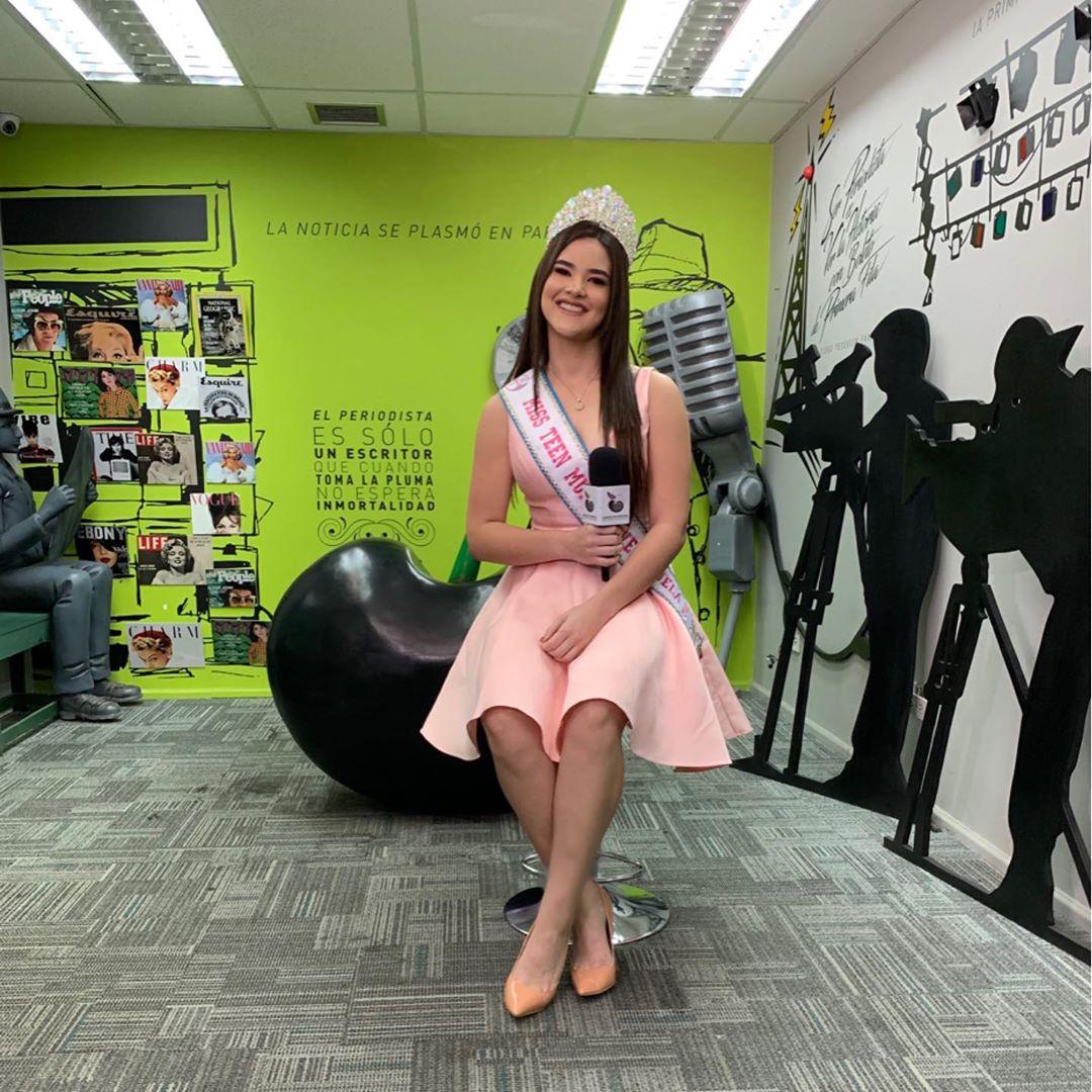 daniela di venere, top 12 de miss teen mundial 2019. 57004910