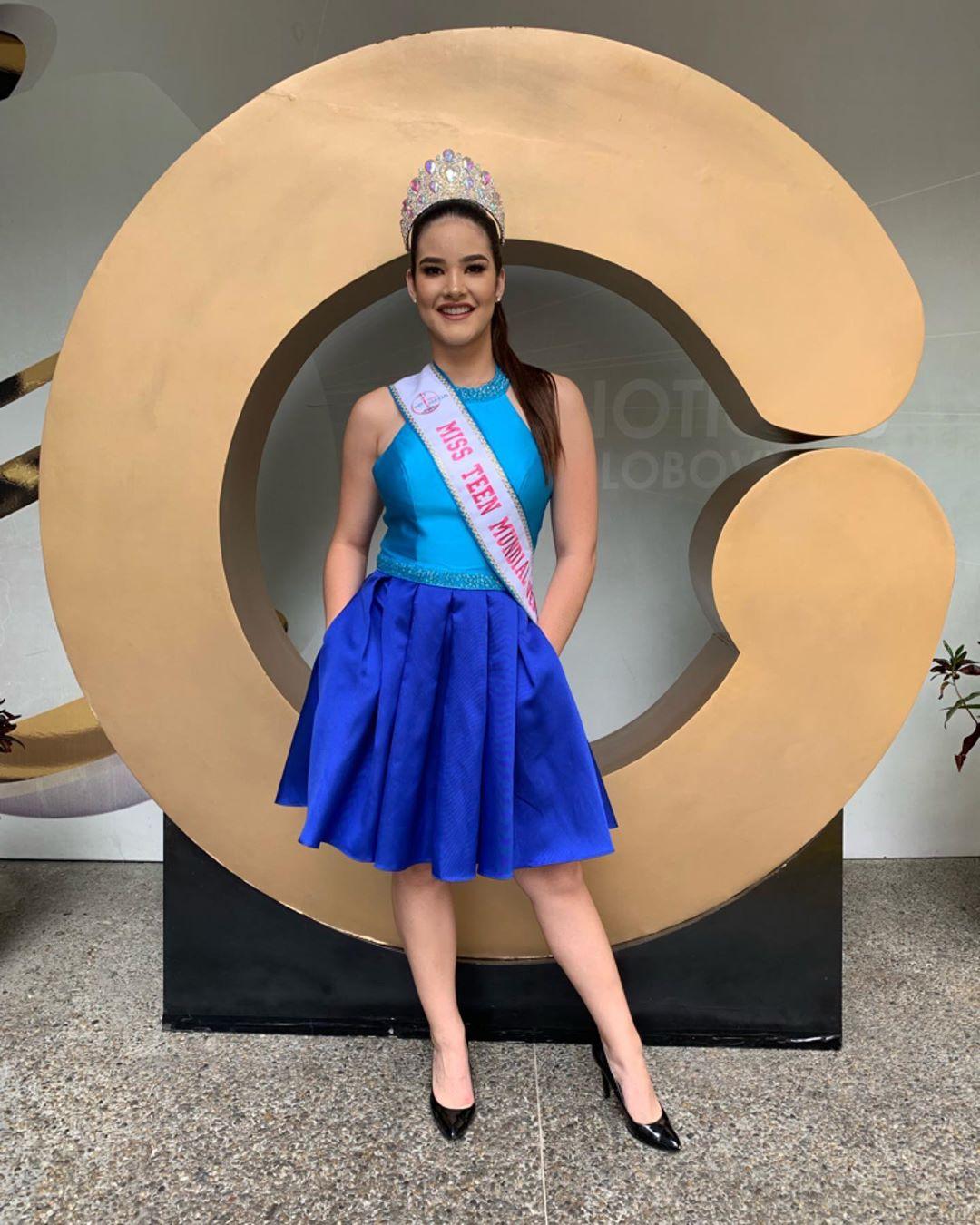 daniela di venere, top 12 de miss teen mundial 2019. 57257110