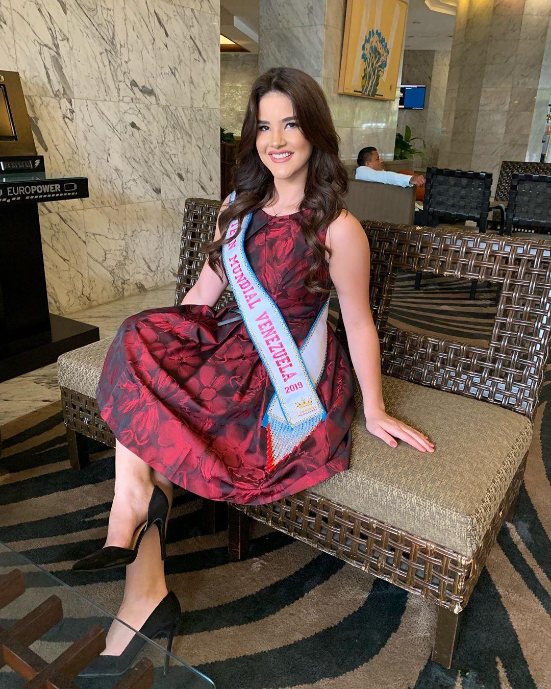 daniela di venere, top 12 de miss teen mundial 2019. 57402310