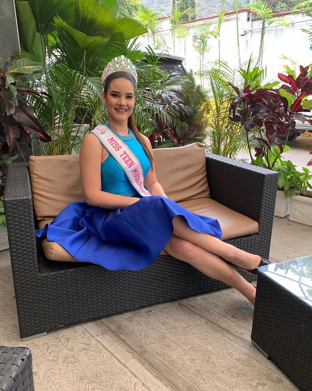 daniela di venere, top 12 de miss teen mundial 2019. 58933510