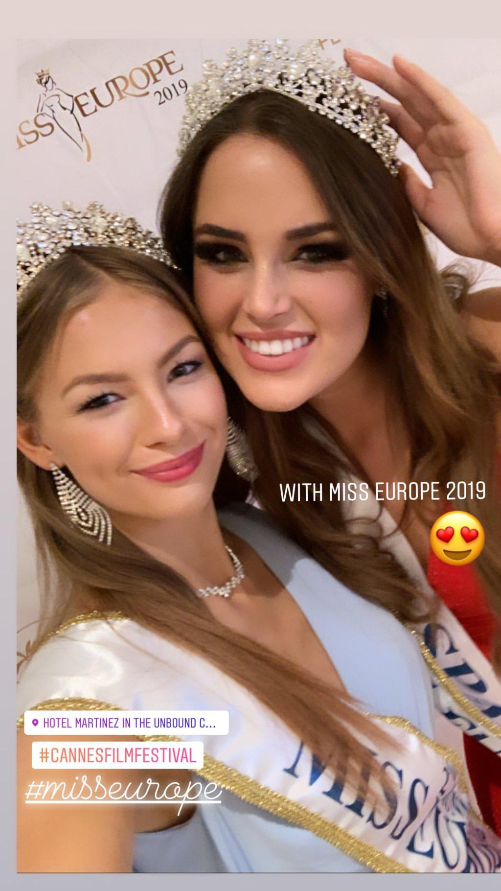 andrea de las heras, miss europe 2019. 59671410