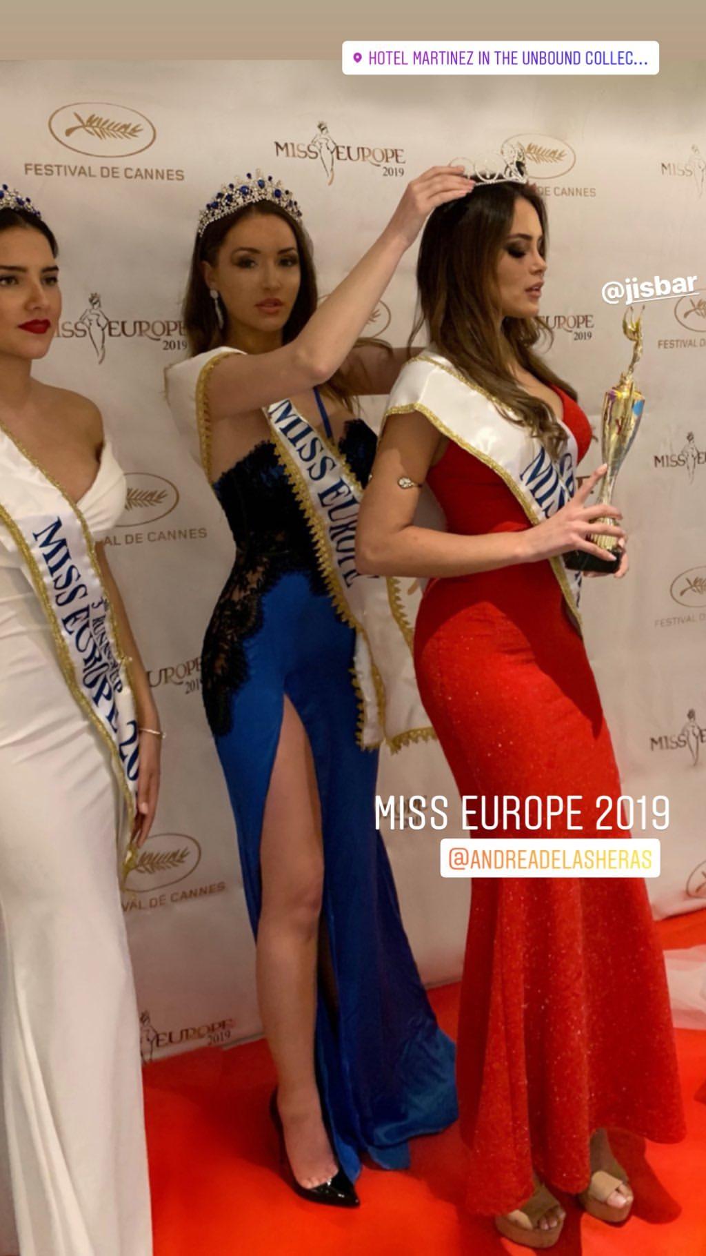 andrea de las heras, miss europe 2019. 59726610