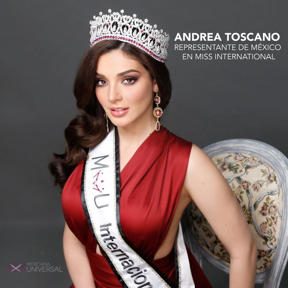 andrea toscano, miss international mexico 2019/mexicana universal 2018.  - Página 25 60351410
