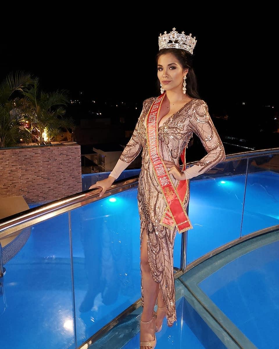 karen isabel rojas, miss tourism world peru 2019/top 20 de miss asia pacific international 2018/miss earth peru 2017. - Página 16 61234510