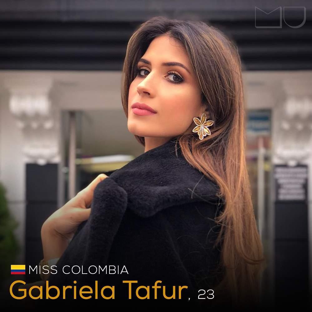 gabriela tafur, top 5 de miss universe 2019. - Página 6 62045010