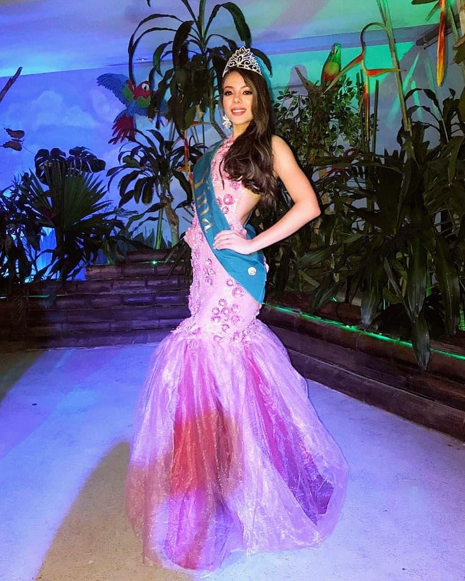 gina aguirre, virreyna de miss latinoamerica 2019. 64220410