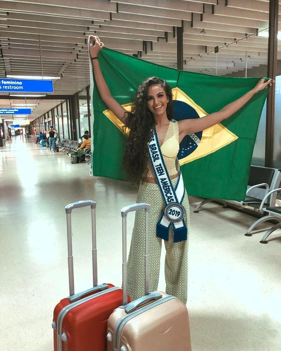 maria luiza marim, miss brasil teen americas 2019. 66434110