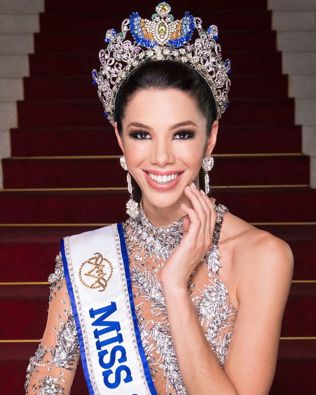 thalia olvino, top 20 de miss universe 2019. - Página 2 67528510