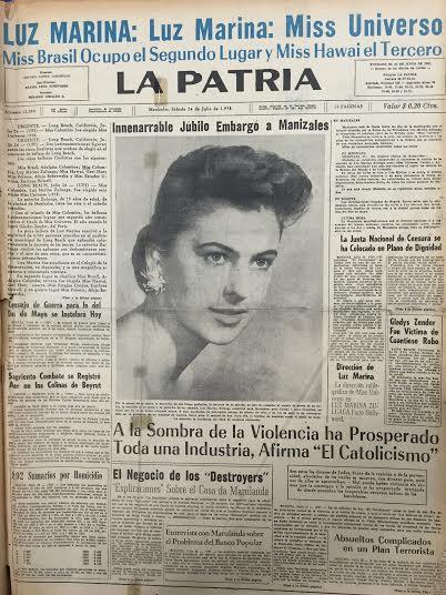 luz marina zuluaga, miss universe 1958. † - Página 5 68130910