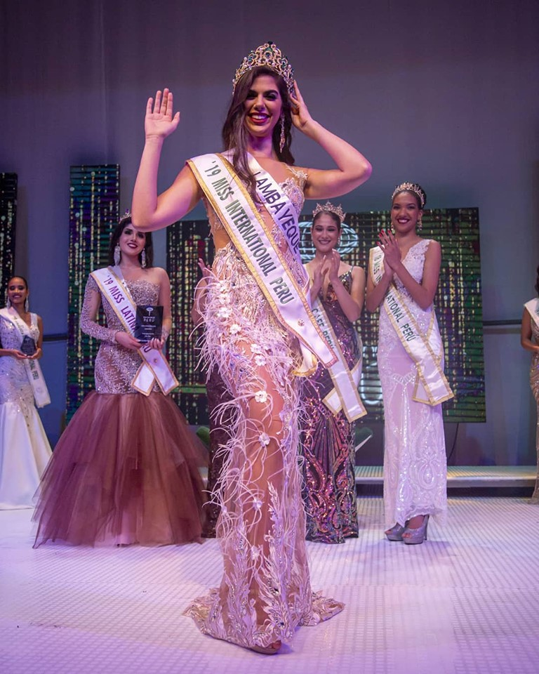 majo barbis, miss international peru 2019. 68896310