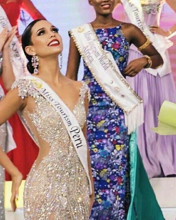 janick maceta, miss peru 2020/third runner-up de miss supranational 2019/1st runner-up de miss tourism 2017-2018.  - Página 6 68927910