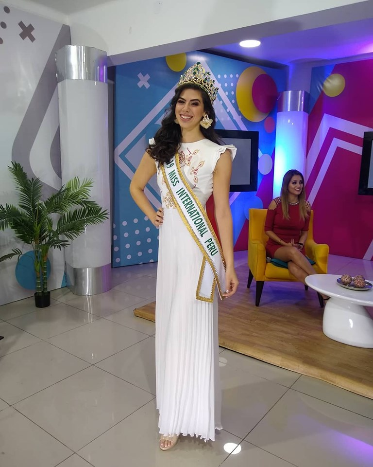 majo barbis, miss international peru 2019. 68991810