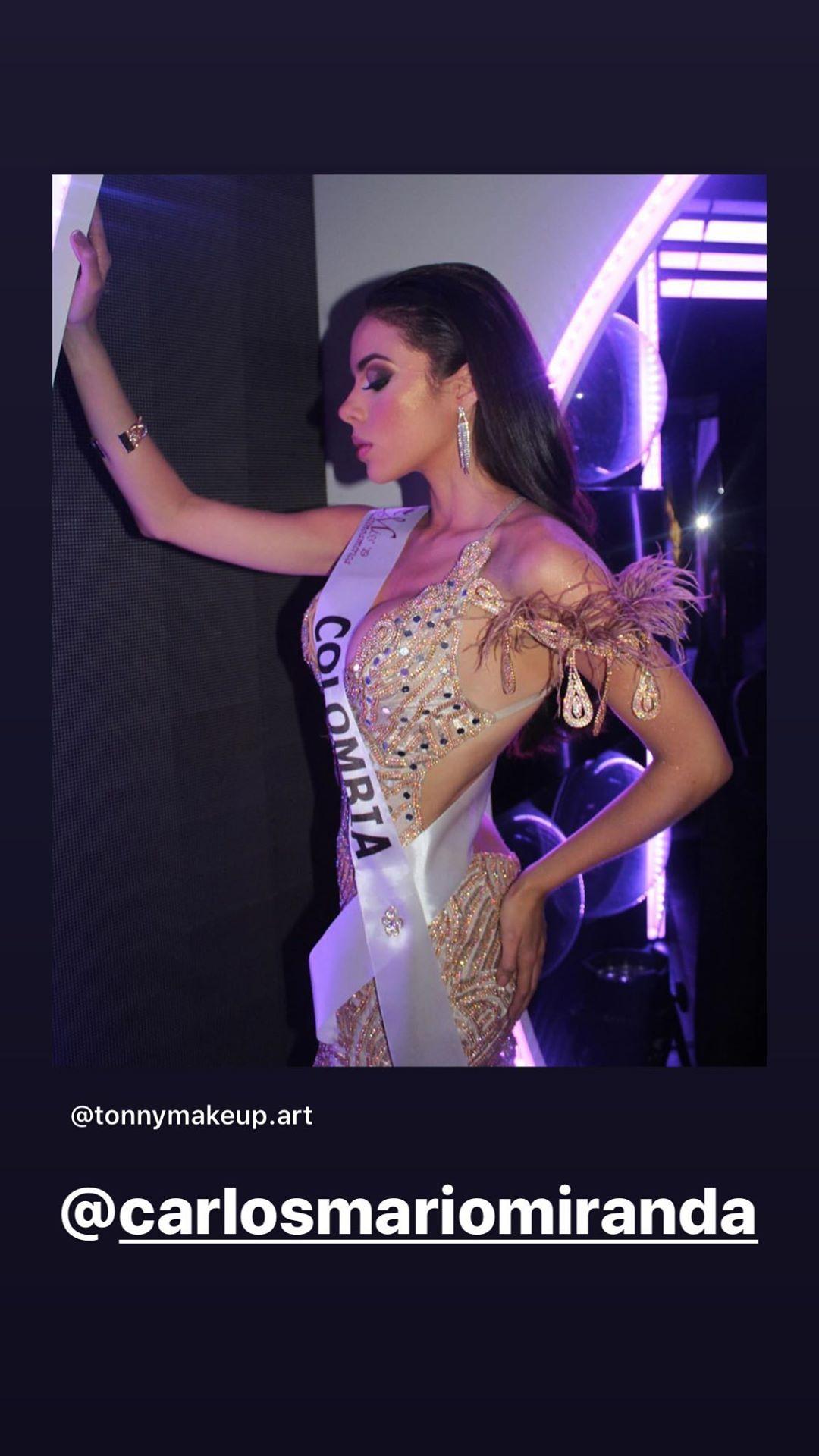 gina aguirre, virreyna de miss latinoamerica 2019. - Página 6 69328010