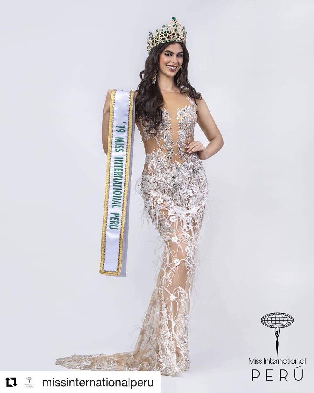 majo barbis, miss international peru 2019. 69647710