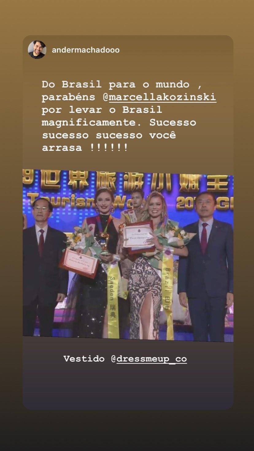 marcella kozinski de barros, 3rd runner-up de miss tourism world 2019. - Página 6 69686410