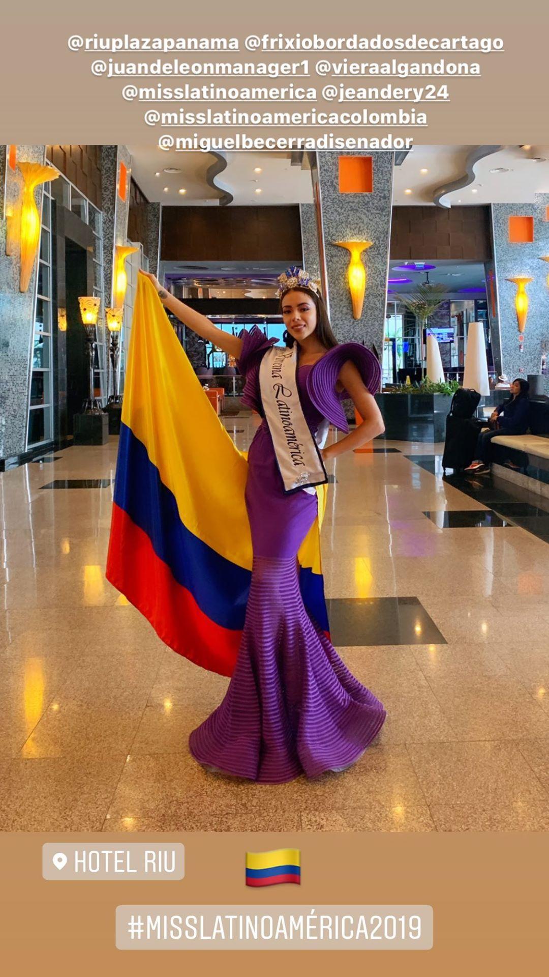 gina aguirre, virreyna de miss latinoamerica 2019. - Página 6 69708010