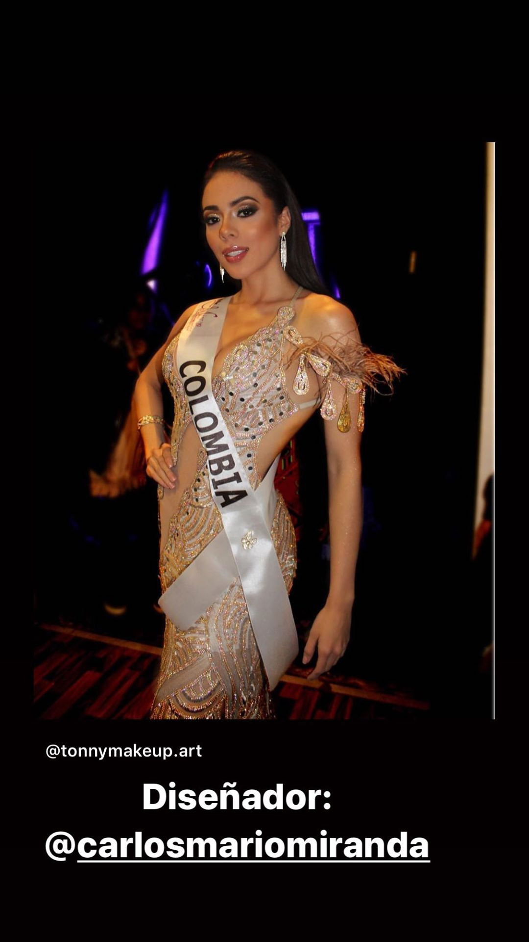 gina aguirre, virreyna de miss latinoamerica 2019. - Página 6 69714510
