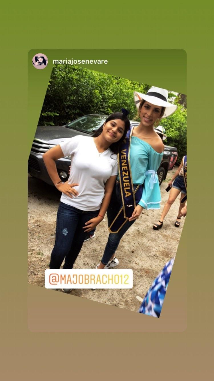 maria jose bracho, miss venezuela continentes unidos 2019. - Página 3 69769110