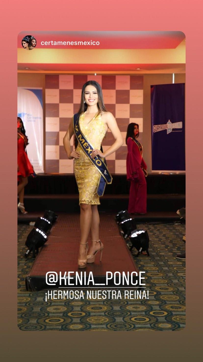 kenia ponce, segunda finalista de miss continentes unidos 2019. - Página 3 69991610