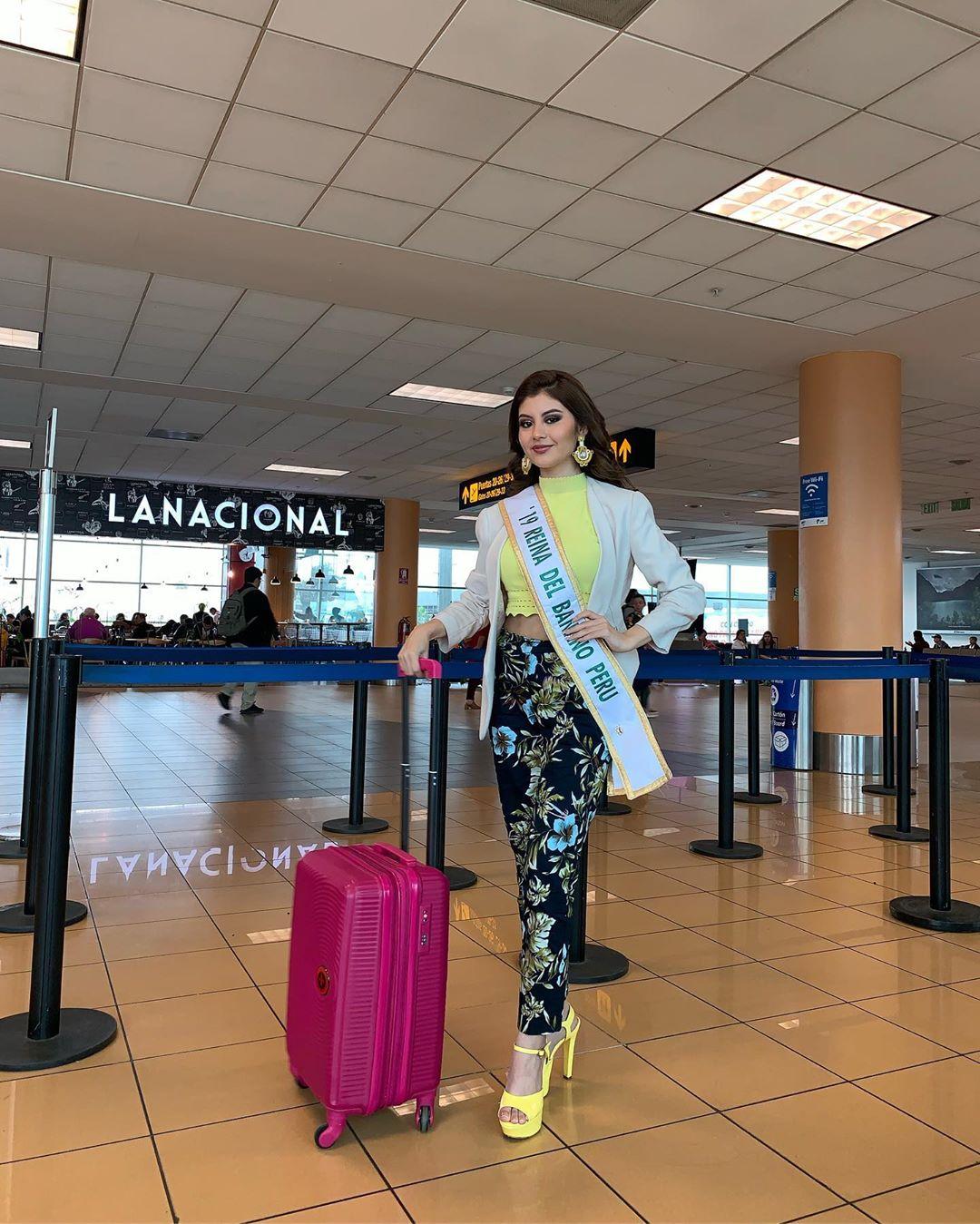 alexandra pinillos, 3ra finalista de reyna mundial banano 2019. - Página 2 70146510