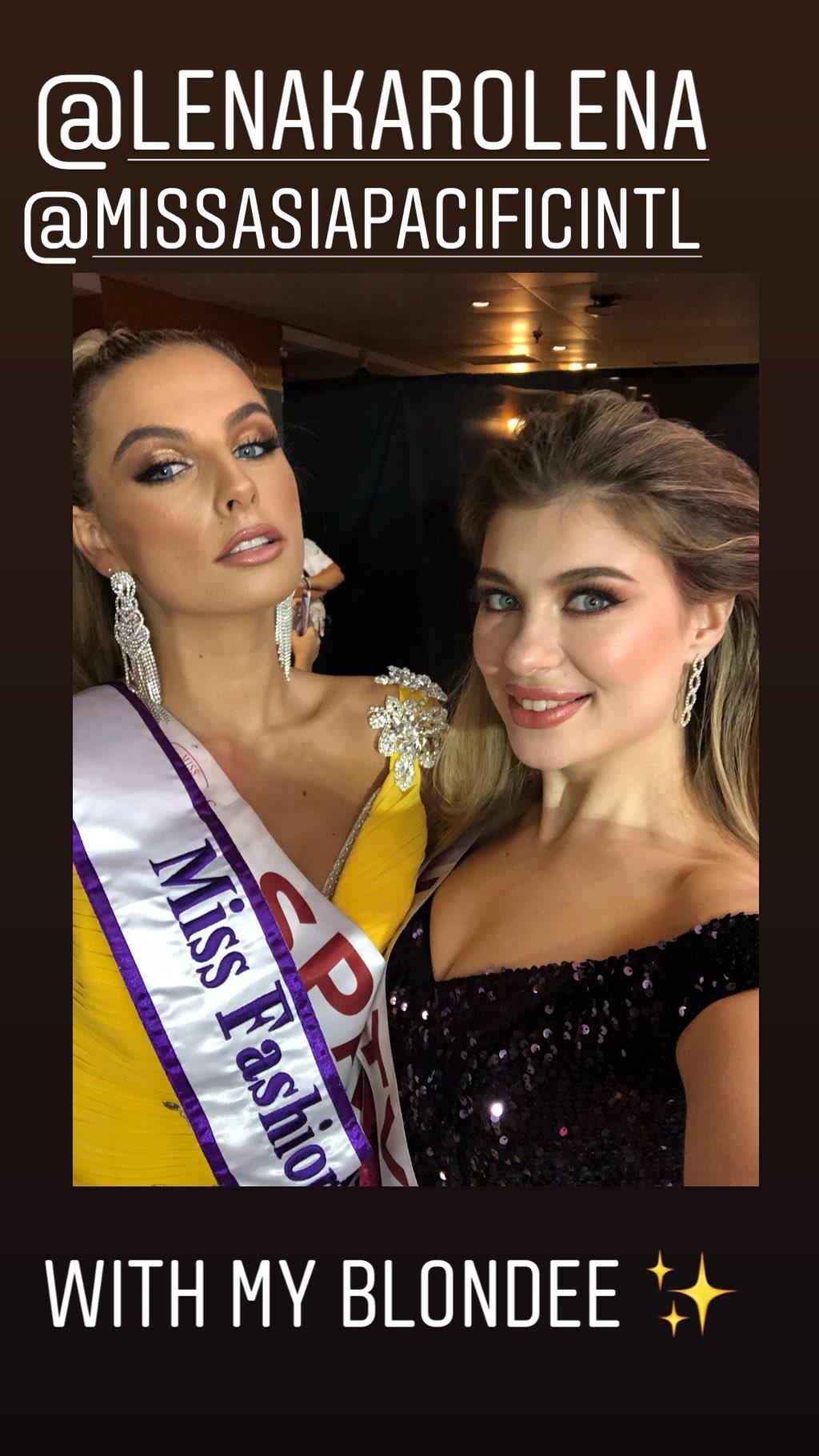 chaiyenne huisman, miss asia pacific international 2019. - Página 2 70504610