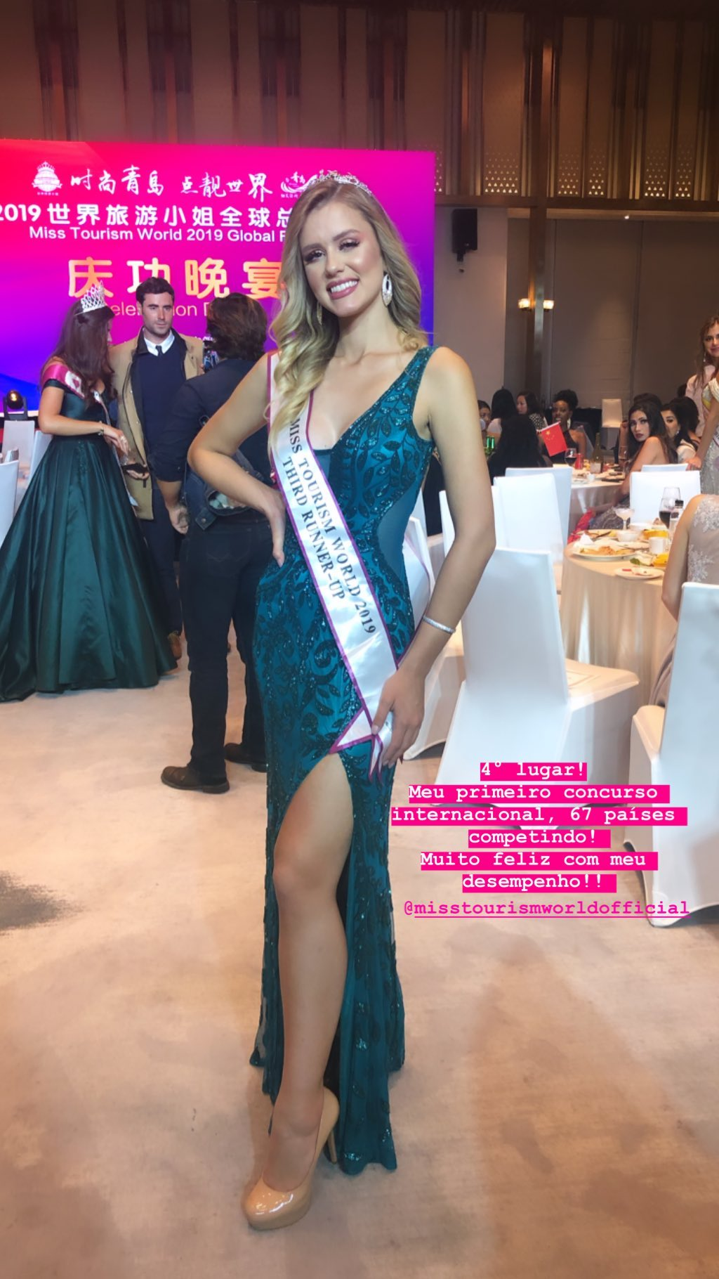 marcella kozinski de barros, 3rd runner-up de miss tourism world 2019. - Página 6 70558510
