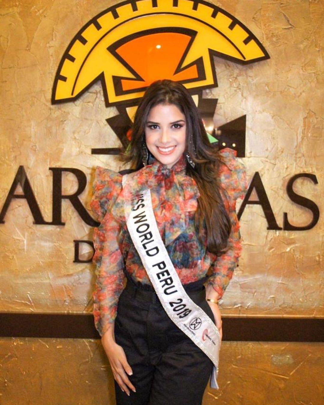 angella escudero, miss world peru 2019. - Página 2 70582410