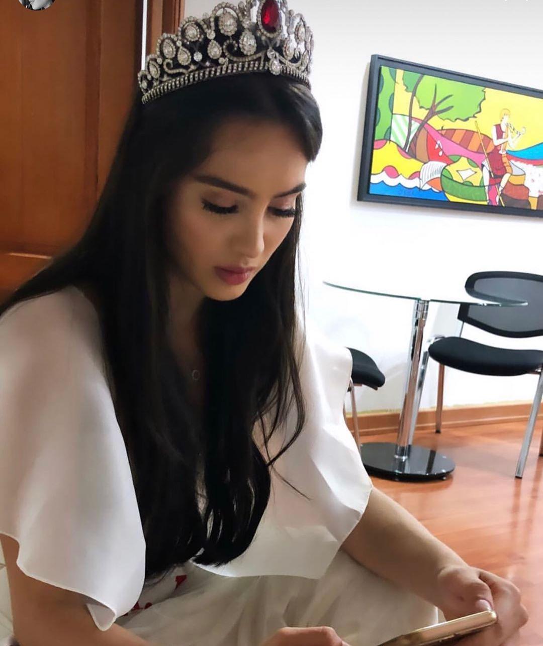 maria alejandra vengoechea, 3rd runner-up de miss international 2019. - Página 2 70833110