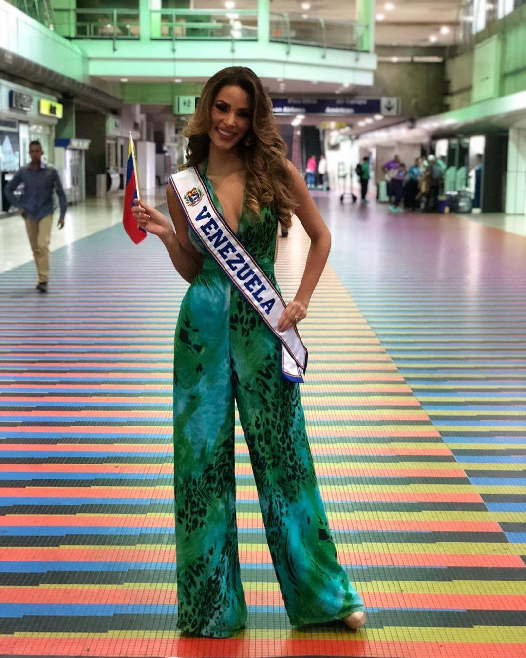 maria jose bracho, miss venezuela continentes unidos 2019. - Página 2 70849310