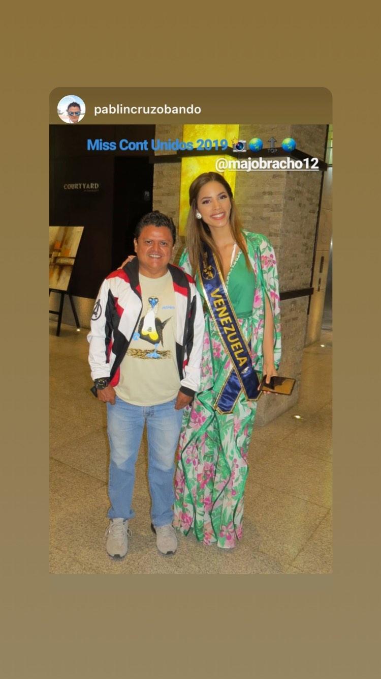 maria jose bracho, miss venezuela continentes unidos 2019. - Página 5 70899410